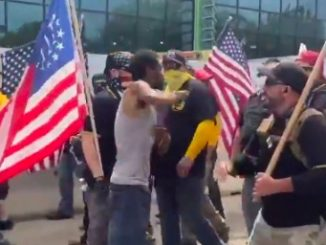 The Right is Starting to Fight Back: Proud Boys Clash With Antifa/BLM in Michigan